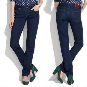 Madewell Rail Straight Leg Dark Wash Jeans 31